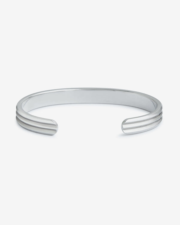 Silver Kyoto Cuff - Westhill Jewellery