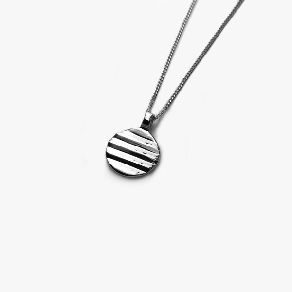 Silver Kyoto Pendant - Westhill Jewellery
