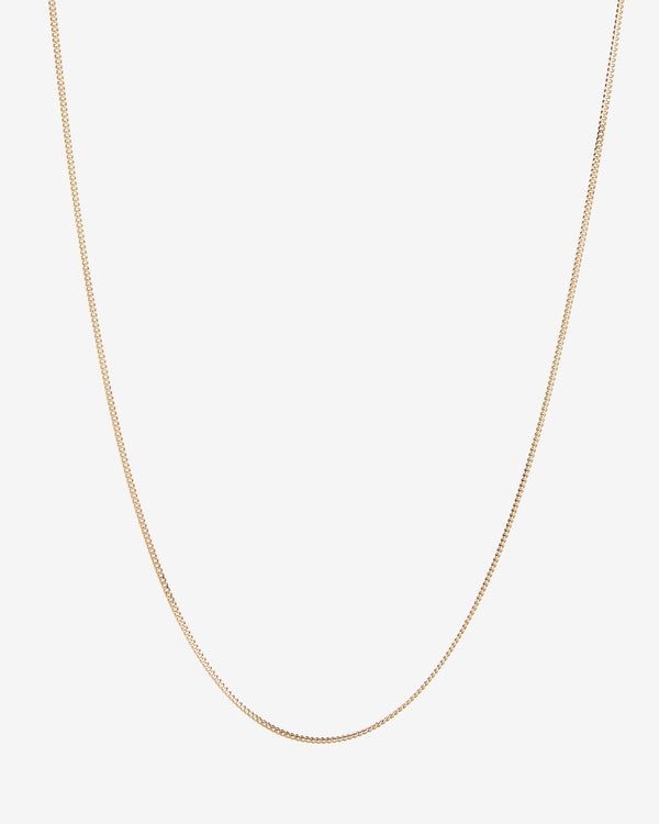 Gold Curb Chain - Westhill Jewellery