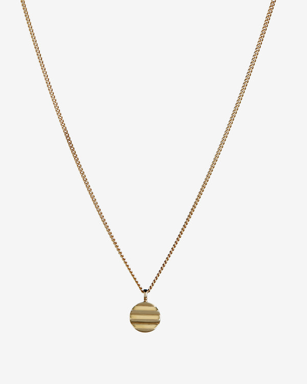 Gold Kyoto Pendant - Westhill Jewellery