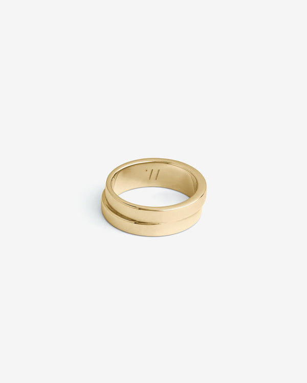 Gold Connections Ring - Westhill Jewellery