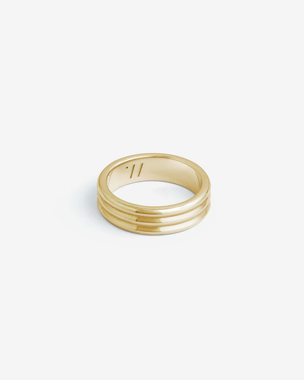 Gold Kyoto Ring - Westhill Jewellery