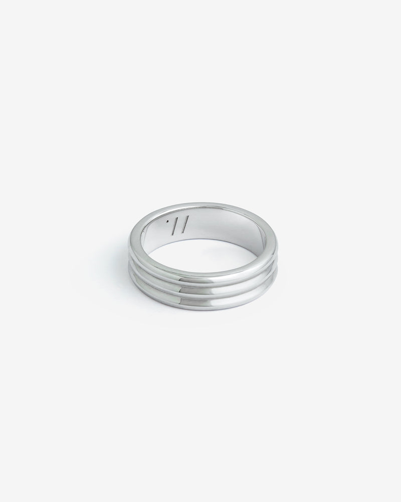 Silver Kyoto Ring - Westhill Jewellery