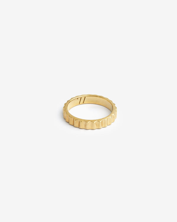 Gold Shortrake Ring - Westhill Jewellery