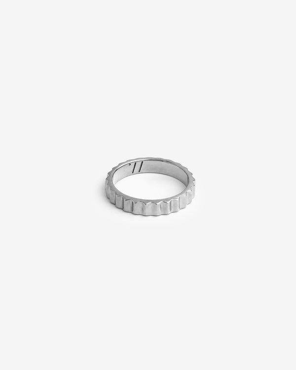 Silver Shortrake Ring - Westhill Jewellery