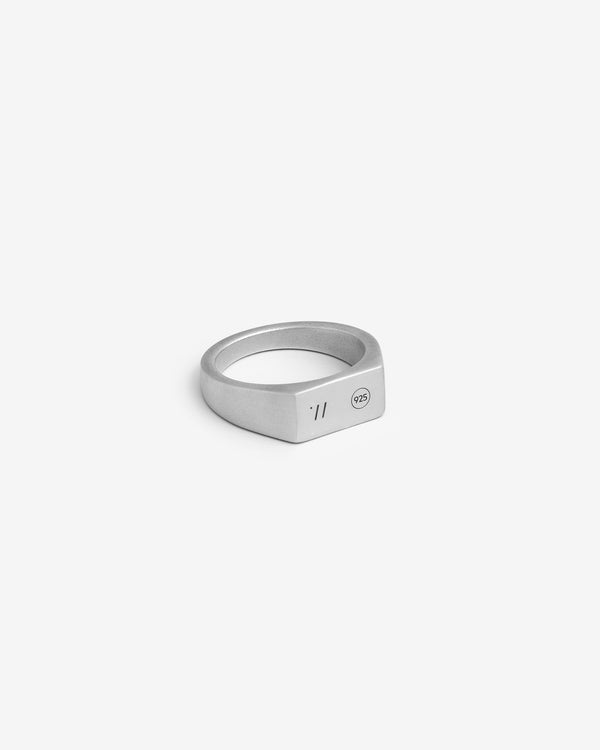 Silver Origin Signet Ring - Westhill Jewellery