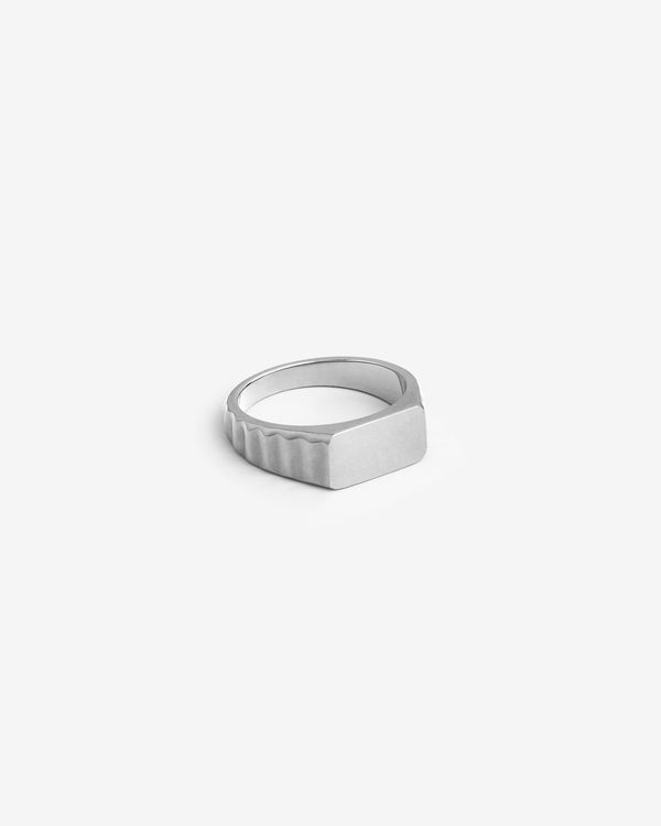 Silver Shortrake Signet Ring - Westhill