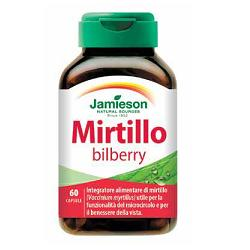 Mirtillo bilberry Jamieson 60 capsule