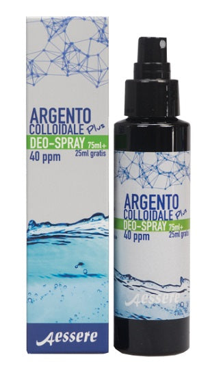 Argento Colloidale Plus Deodorante Spray 75 ml + 25 ml