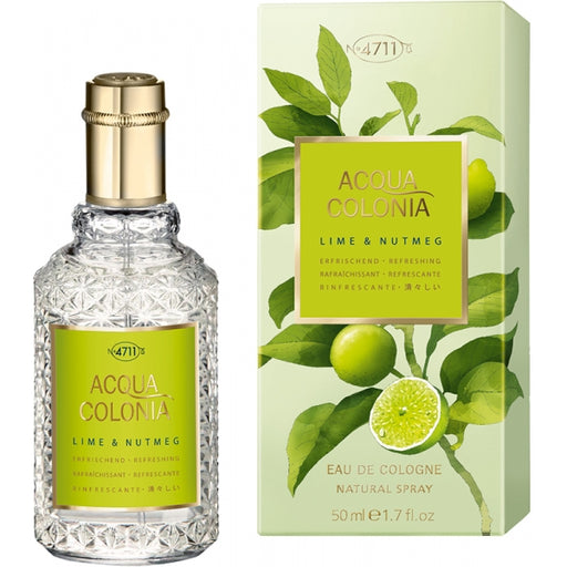 4711 Acqua Colonia Lime e Nutmeg 50 ml