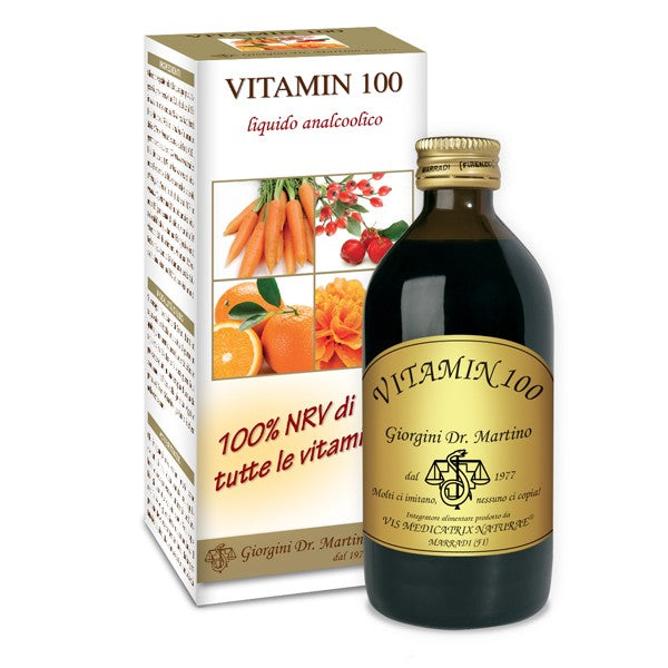 VITAMIN 100 liquido analcolico 200ml