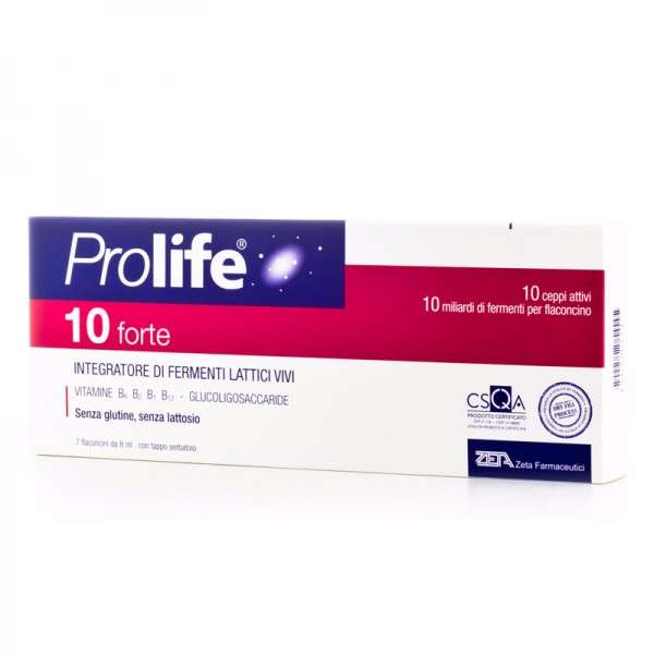 Prolife 10 Forte 7 flaconcini 8 ml