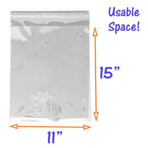 5 Sizes Crystal Clear Self Seal Transparent Plastic Cellophane Poly OPP Bags NEW - ShipNFun