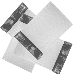 "6x10"" POLY BUBBLE MAILERS, White Wholesale Padded Envelopes 6x9 Shipping Bags! - ShipNFun"