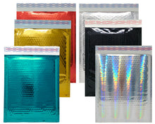 Copy of 8.5x12 Holographic, Pink, Teal METALLIC BUBBLE MAILERS,  Poly Padded Envelopes! - ShipNFun