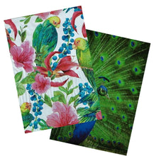"10x13"" Peacock and Parrots Combo Pack, Quality Bird Designer Mailer Shipping Bag - ShipNFun"