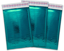 "4x8""  CHOOSE! Holographic, Pink, Rose Gold, Teal, Black, Camo, Silver Metallic Bubble Mailers, Padded Shipping Envelopes Pack, Size #000"