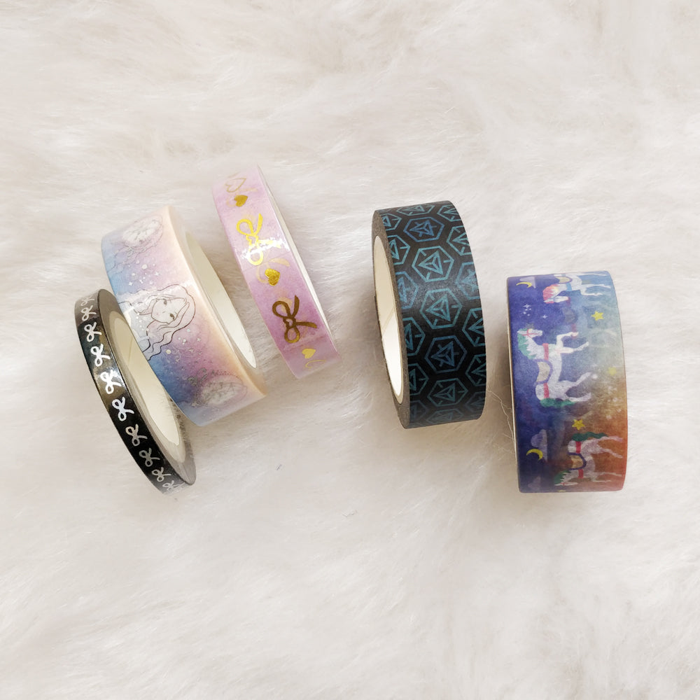 Nautankishaala - Day Dream Washi Tape | Set Of 5