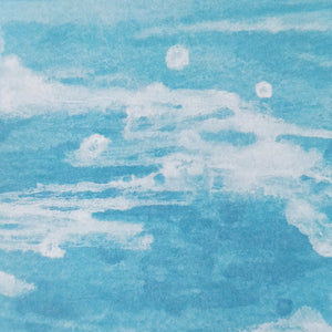 Ocean Wave Scenery Sticky Note - Nautankishaala