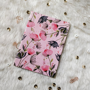 Nautankishaala - Pink Floral A5 Notebook | Unruled Notebook For Doodle Online in India