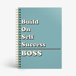 BOSS - Build On Self Success Notebook  - Nautankishaala