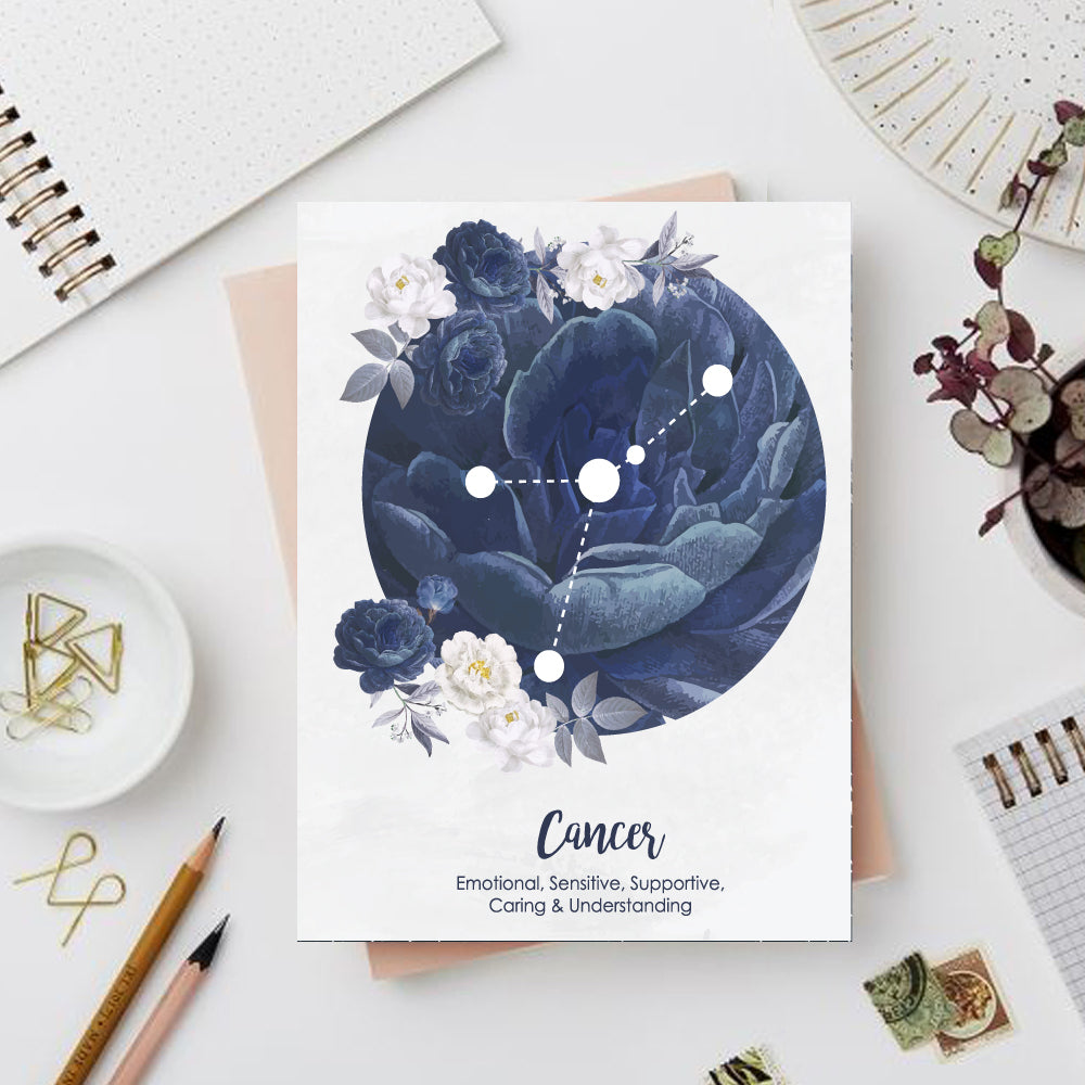 Cancer Zodiac Sign Notebook - Nautankishaala