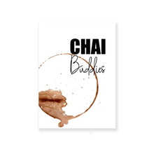 Load image into Gallery viewer, Chai Buddies Greeting Card With Envelope - Nautankishaala