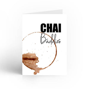 Chai Buddies Greeting Card With Envelope - Nautankishaala