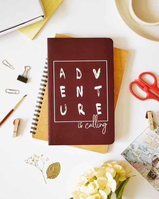 Adventure Is Calling Notebook - Nautankishaala Designer Notebooks Buy Online In India