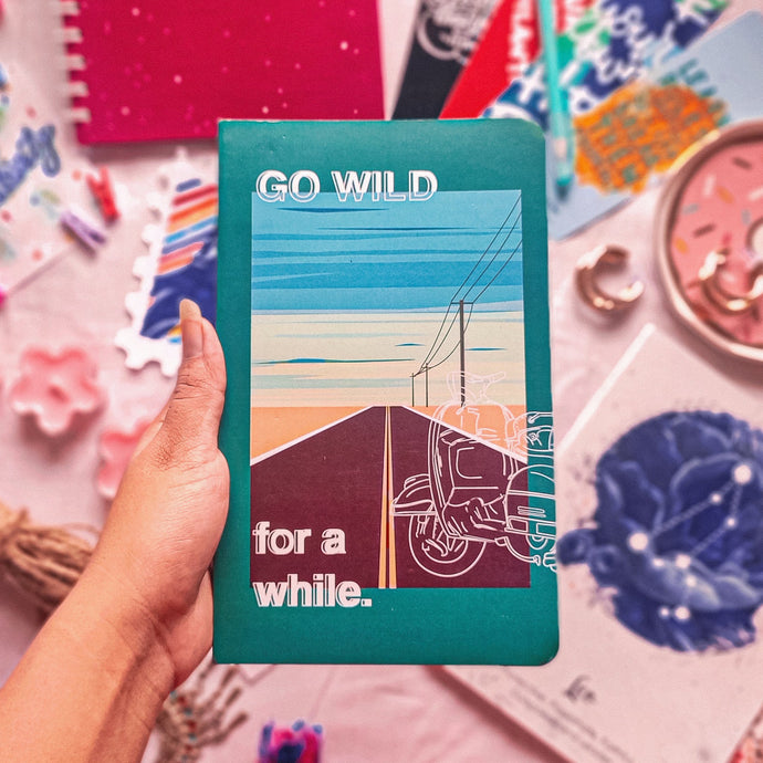 Go Wild For A While Notebook - Nautankishaala| Designer Notebooks Buy Online In India