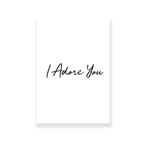 I Adore You Greeting Card - Nautankishaala