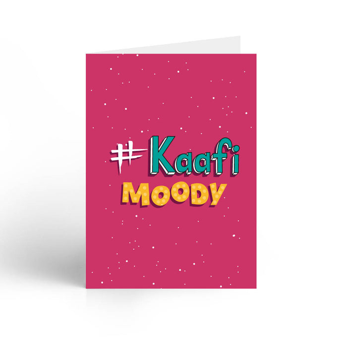 Kaffi Moody Greeting Card With Envelope - Nautankishaala