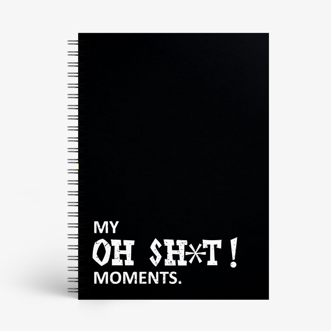SAMPLE - Oh Shit! Moments Notebook