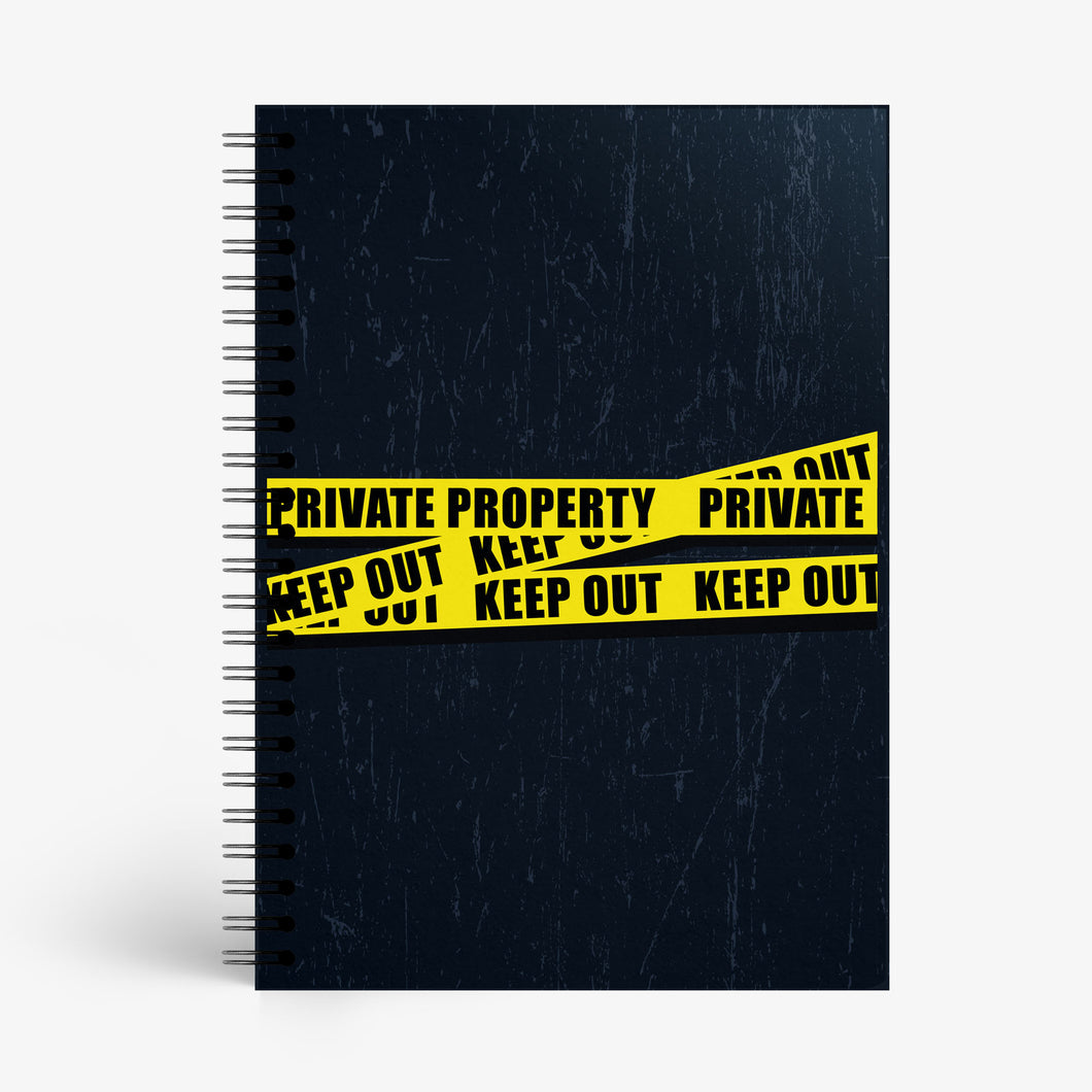 Private Property Notebook - Nautankishaala