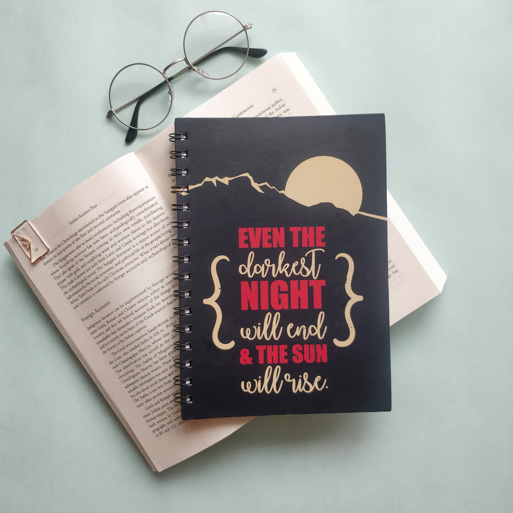 Rise Above Notebook - Nautankishaala