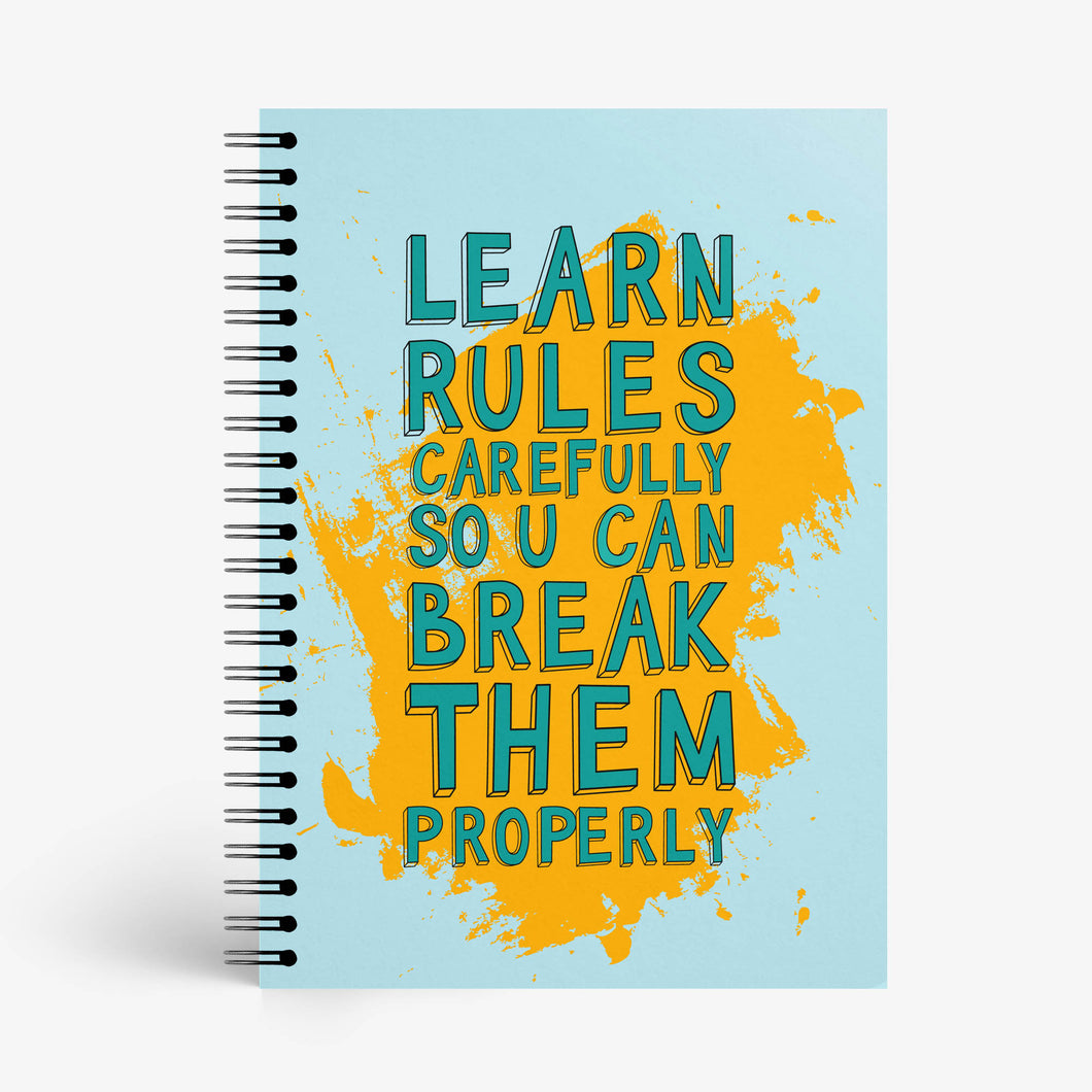 Rule Breaker Notebook - Nautankishaala