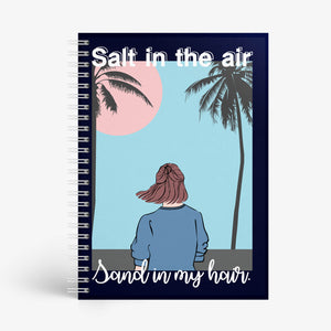 SAMPLE - Salt In The Air Notebook