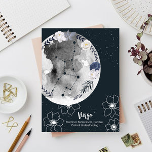 Virgo Zodiac Sign Notebook - Nautankishaala