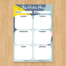 Load image into Gallery viewer, Weekly Planner - Nautankishaala