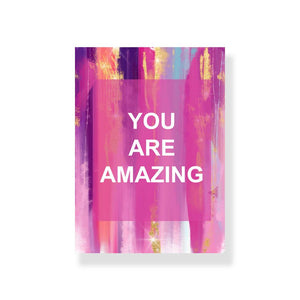 You Are Awesome Greeting Card With Envelope - Nautankishaala