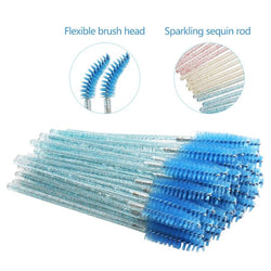 (BLUE ONLY) 50pcs Soft Spoolie/Mascara Wand