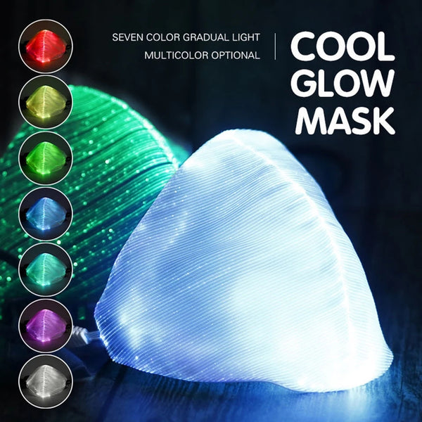 Adjustable Led Light up Fashion Mask