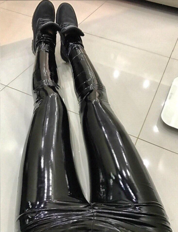 Liquid Leather Leggings PU