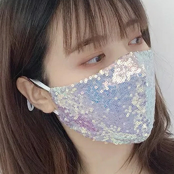 Sequins Face Mask