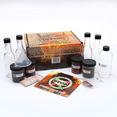 The BYOB DIY Hot Sauce Making Kit