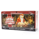 Hot Sauce Gift Set Advent Calendar The 25 Sauces of Christmas