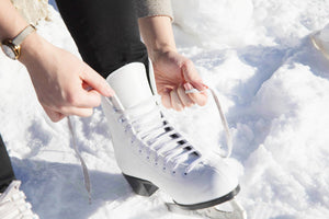 How to Tie Figure Skates