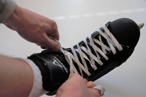 How to Tie Hockey Skates
