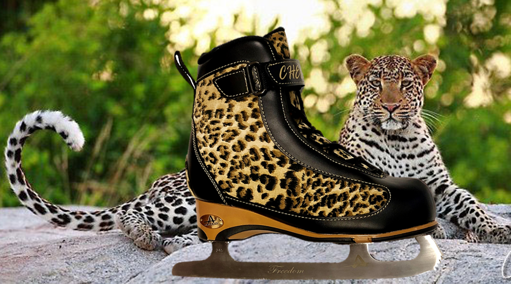Ice Skate Fashion 101: Cheetah