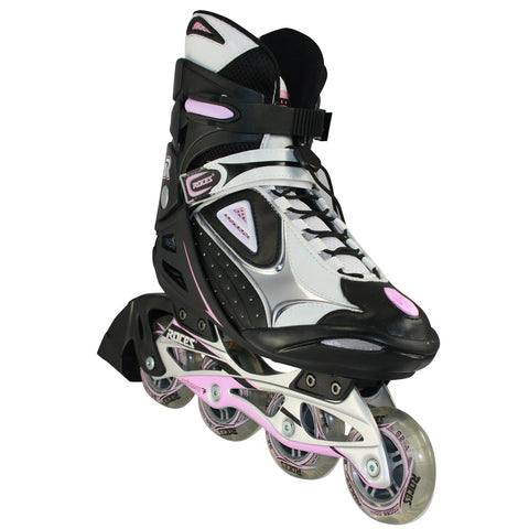 Women's R-200 Black & Pink IN-Line Skate